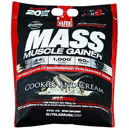 Sữa Tăng Cân Elite Labs Mass Muscle Gainer 20lbs (9kg)