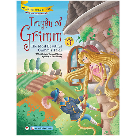 Truyện Cổ Grimm 3 - Truyện Song Ngữ Anh - Việt