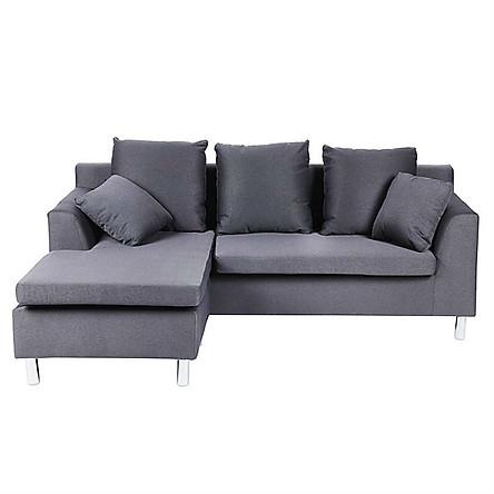 Sofa Vải Chữ L H-Roger Juno Sofa - Xám (202 x 156 cm)