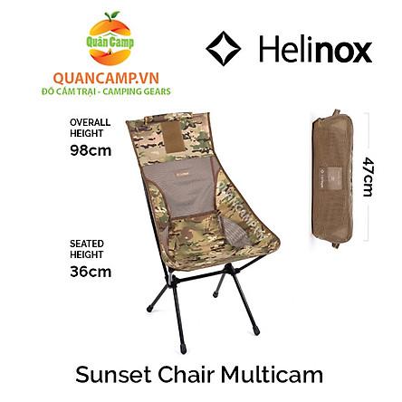 Ghế dã ngoại xếp gọn Helinox Sunset Chair Multicam