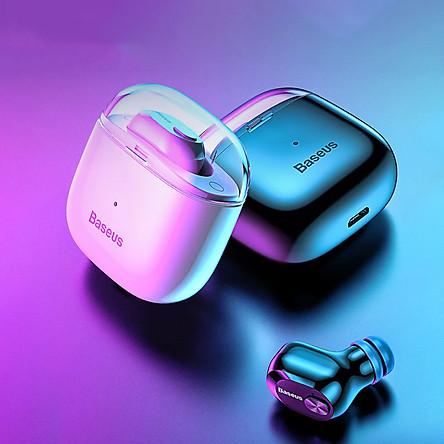 Tai nghe bluetooth earphone đơn chống nước hiệu Baseus TWS A03s ( bluetooth 5.0, Lọc âm, chống ồn, âm thanh Hifi) - Hàng nhập khẩu