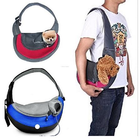 Túi đeo chéo đựng chó mèo XUDAPET - XDP01TDC