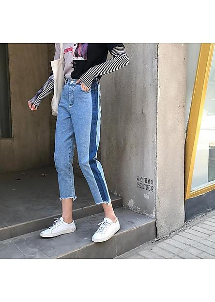 Quần Jeans Baggy Thời Trang Phong Cách Unisex-N01