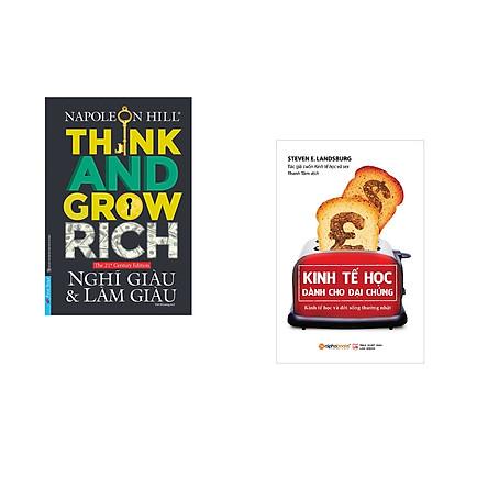 Combo 2 cuốn sách: Nghĩ Giàu & Làm Giàu + Kinh tế học dành cho đại chúng