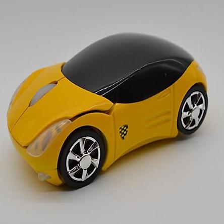 Chuột văn phòng không dây hình xe hơi Fer-rari giao màu ngẫu nhiên