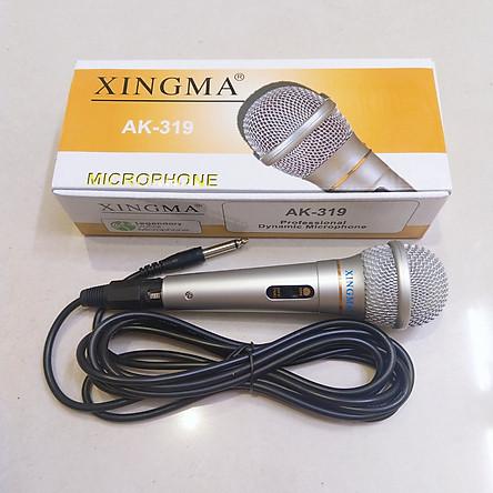 Micro Hát Karaoke Xingma AK319 - Hàng Nhập Khẩu