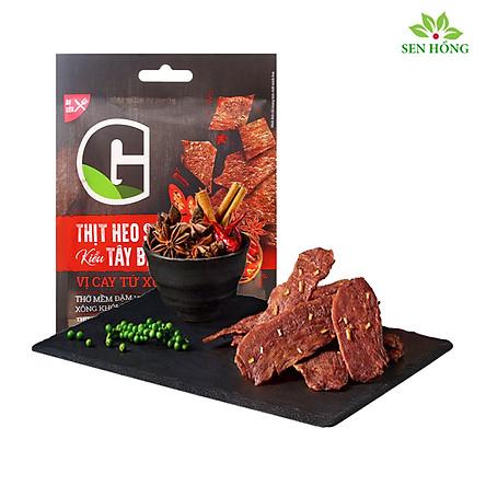 [Chỉ Giao HCM] - Thịt heo sấy kiểu Tây Bắc vị cay Tứ Xuyên 25gr