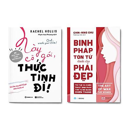 Combo 2 cuốn: Này Cô Gái, Thức Tỉnh Đi! + Binh Pháp Tôn Tử Dành Cho Phái Đẹp