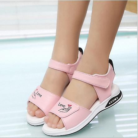 Dép sandal bé gái hàn quốc_TT334