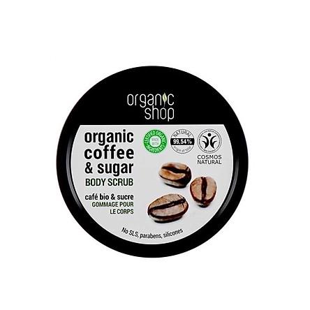 Tẩy Tế Bào Chết Toàn Thân Organic Shop Organic Body Scrub 250ml (hàng Europe)