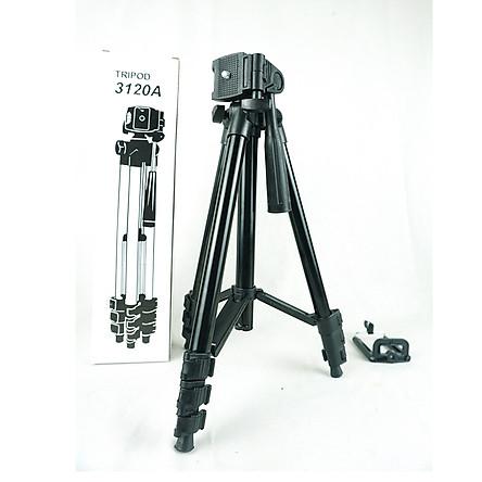 Chân máy ảnh chụp hình 3 chân Tripod3120 PKCB182 - Hàng chính hãng