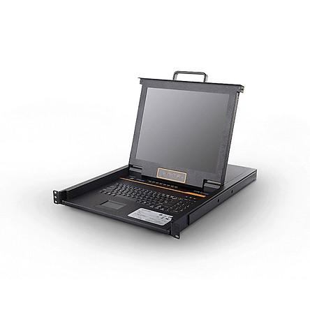 Bộ chuyển đổi Kinan XL1708 LCD KVM 8 port 17 inch - Hàng chính hãng