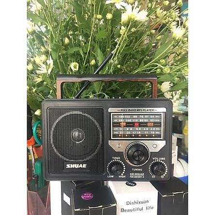Đài Radio FM có khe cắm thẻ nhớ,usb nghe nhạc SW999