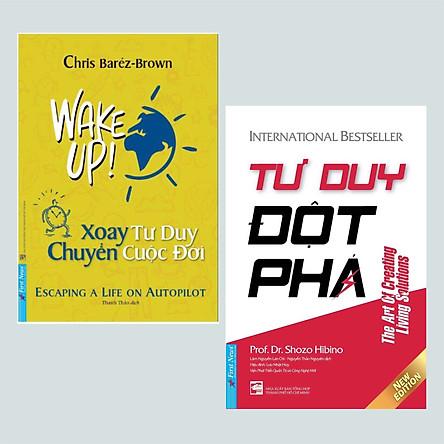 Combo 2 cuốn sách kĩ năng tư duy hay nhất: Xoay Tư Duy Chuyển Cuộc Đời + Tư Duy Đột Phá/ Bộ sách giúp ta thay đổi tư duy theo hướng mới