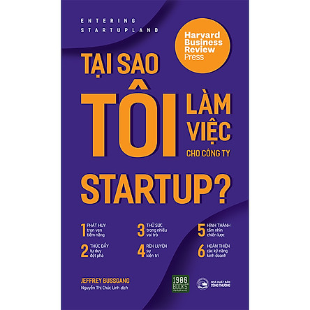 Tại Sao Tôi Làm Việc Cho Công Ty Startup?