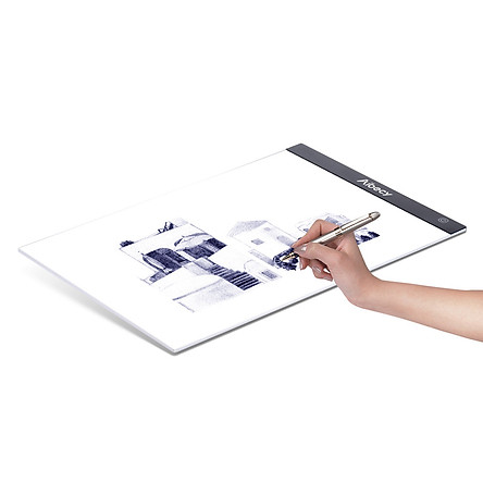 Aibecy A4 Ultra-thin Portable LED Light Box Drawing Tracer Table Painting Tracing Pad Copy Board Panel with Stepless