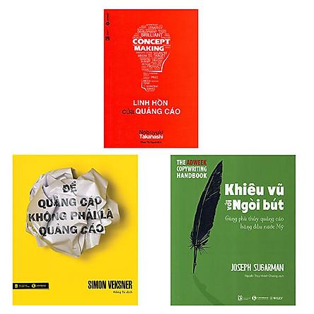 Combo 3 cuốn: Để Quảng Cáo Không Phải Là Quảng Cáo + Khiêu Vũ Với Ngòi Bút + Linh Hồn Của Quảng Cáo