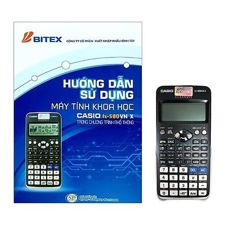 Combo Máy Tính Casio FX 580 VN X + Hướng Dẫn Sử Dụng Máy Tính Khoa Học Casio FX 580 VN X Trong Chương Trình Phổ Thông