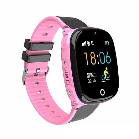 Đồng hồ thông minh định vị trẻ em ANNCOE AW22 chống nước IP67 cảm ứng toàn màn hinh định vị chính xác vị trí hỗ trợ tiếng việt