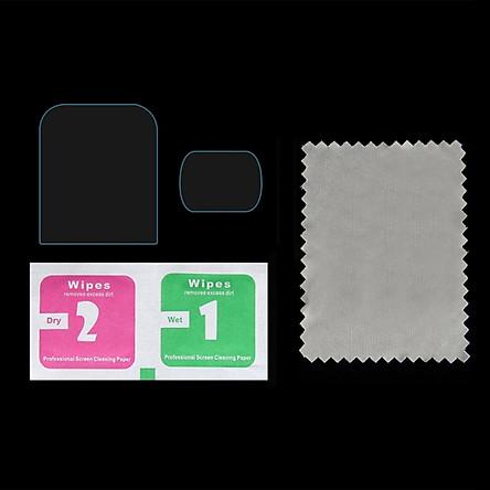 Screen Protector for DJI Pocket 2, 9H Hardness Tempered Glass Screen Protector + Lens Protector Film Full Coverage for DJI Osmo Pocket 2 Cameras