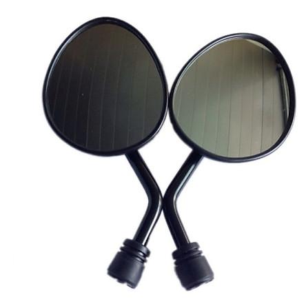 Bộ 2 Gương Chiếu Hậu Xe Máy Kiểu Tai MÈO Chân Gương 10mm