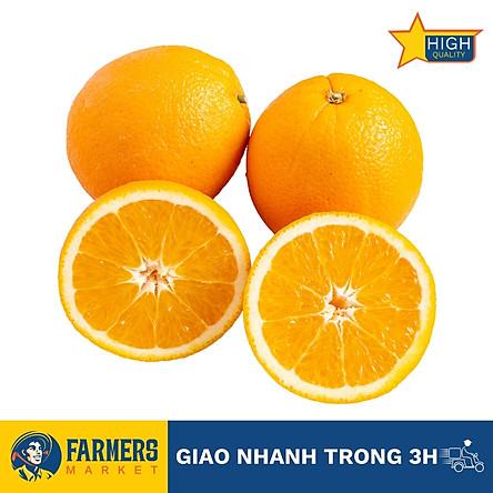 [Chỉ Giao HCM] - Cam vàng Maroc size 48 (1Kg) - Size vừa, ruột cam vàng, ngọt và mọng nước, không khô sượng