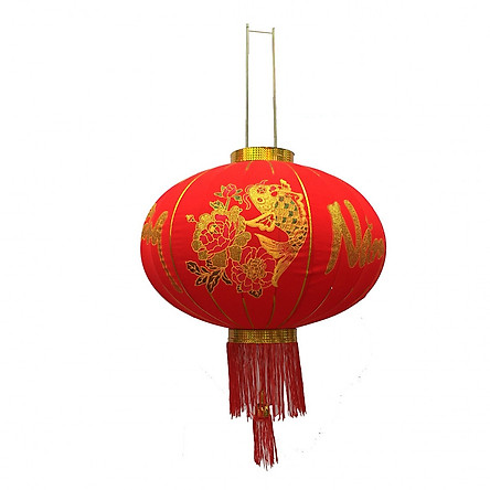 Combo 02 đèn lồng đỏ trang trí ngày tết size 60cm