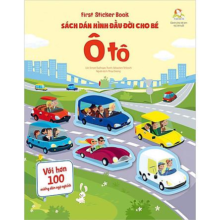 First Sticker Book - Sách Dán Hình Đầu Đời Cho Bé - Ô Tô