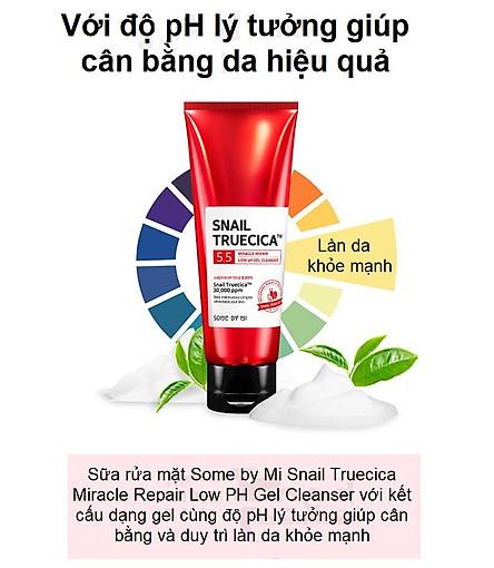 Bộ Dưỡng Da, giúp săn chắc, Phục Hồi, Cải Thiện Vết Thâm, Sẹo Some By Mi Snail Truecica Miracle Repair( SRM+TONER+SERUM)