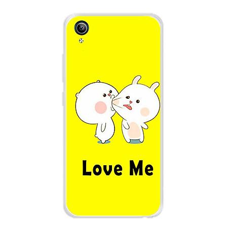 Ốp lưng dẻo cho điện thoại Vivo Y91C -0018 LOVEME - Hàng Chính Hãng