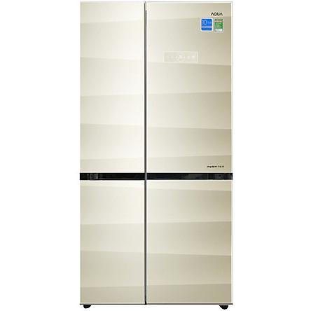 Tủ lạnh Aqua Inverter 518 lít AQR-IG585AS SG ( HÀNG CHÍNH HÃNG)