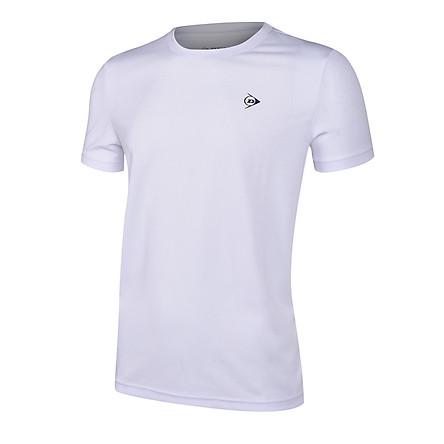 Áo cầu lông nam Dunlop - DABAS9101-1 Thoáng khí co giãn thoát mồ hôi tốt phù hợp vận động thể thao chơi cầu lông tennis
