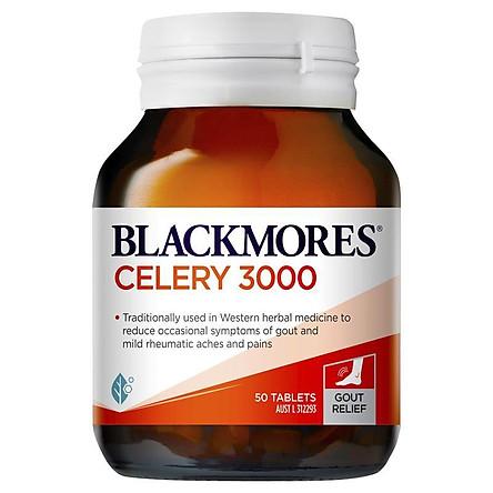 Viên uống Gout Blackmores Celery 3000 50 viên