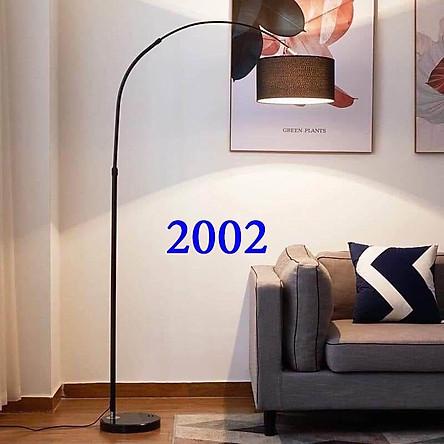 Đèn cây đèn đứng trong nhà hình cần câu chao vải 2002 - phong cách Ý