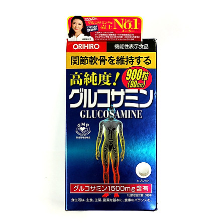 Viên uống Glucosamin Orihiro Nhật Bản (ORIHIRO Hight Pure Glucosamine Tablets)