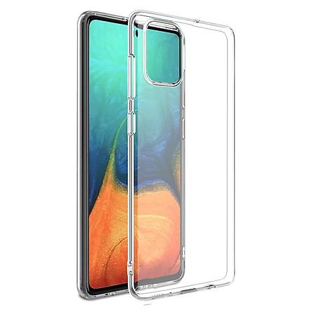 Ốp lưng silicon dẻo trong suốt dành cho SamSung Galaxy A51 siêu mỏng