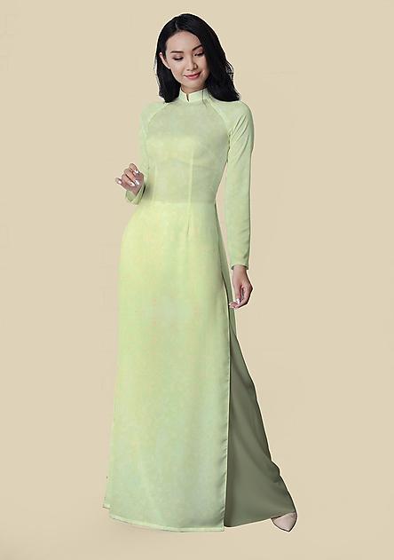 Vải Áo Dài Thái Tuấn Hoa Văn Dệt   DLTN002-202