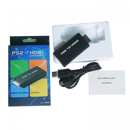 Đầu chuyển tín hiệu từ PS2 ra HDMI, Playstation 2 sang HDMI có âm thanh