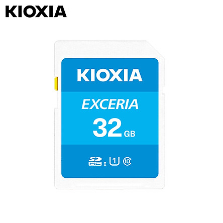 KIOXIA 64GB SD Memory Card U1 100MB/s Reading Speed Support Full HD Video  Memory Card for Digital Camera/Laptop/Tablet