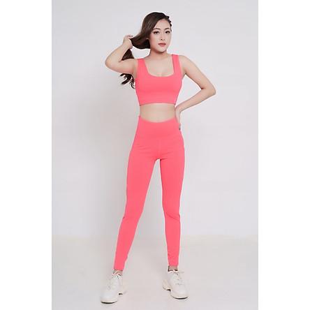 Bộ quần áo thể thao chéo lưng tập Gym, Yoga, Aerobic S40029