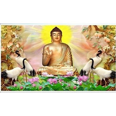 Tranh đính đá Phật tổ như lai - LV323