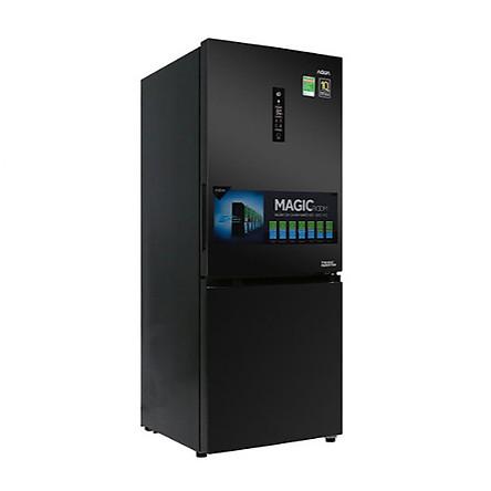 Tủ lạnh Aqua Inverter 260 lít AQR-I298EB BS (HÀNG CHÍNH HÃNG) + Tặng bình đun siêu tốc