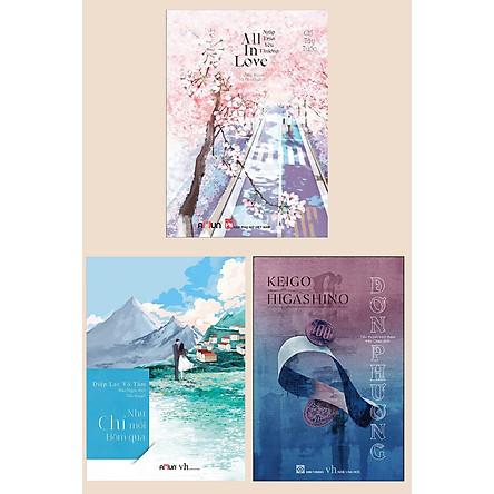 Combo Sách Lãng Mạn Hay: All In Love (Ngập Tràn yêu Thương / New 2020) + Như Chỉ Mới Hôm Qua + Đơn Phương