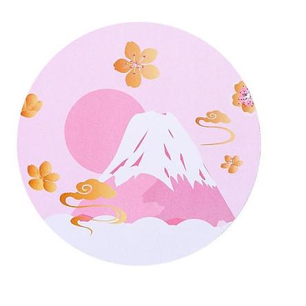 Tấm Lót Chuột Tròn 220mm Núi Fuji