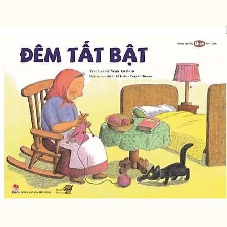Đêm Tất Bật - Tranh truyện Ehon kích thích khả năng tư duy cho trẻ từ 3-6 tuổi - Mọt sách Mogu