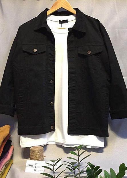 Áo khoác kaki jean Nam UNISEX - 6 màu căn bản