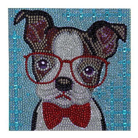 DIY 5D Diamond Painting Cute Penguin Pattern 150x150mm Full Drill Diamond Embroidery Desktop Decor Children Gift
