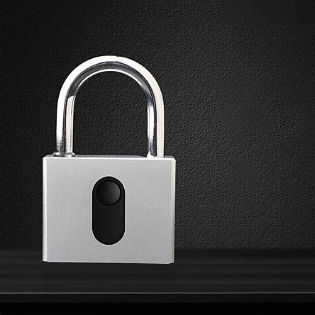 Ổ khóa vân tay cỡ lớn OKLOK GS60F bằng thép không gỉ chống nước chống phá khóa cảm biến 1 chạm