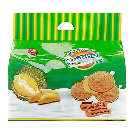 Bánh cookie Lai Phú kem Sầu Riêng 210g