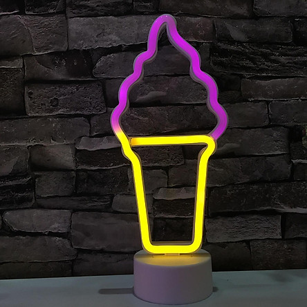 LED Neon Sign Night Light Bedside Home Party Bar Lamp